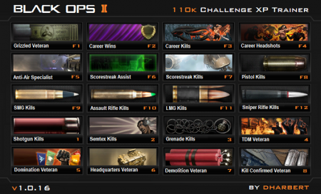 BO2 - 110k Challenge XP Trainer